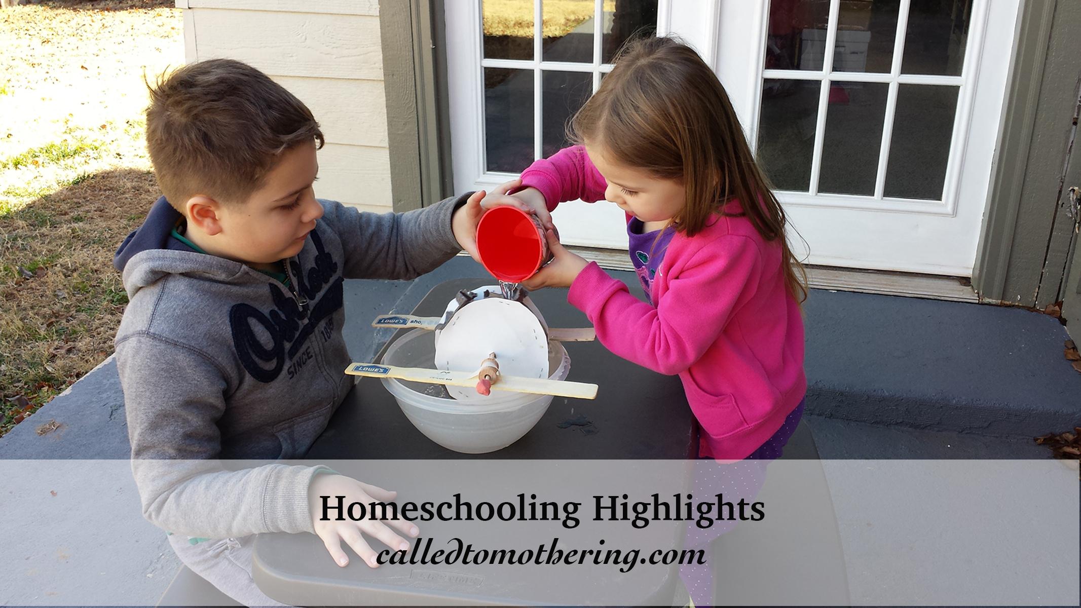 Homeschooling Highlights