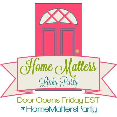 Home Matters Linky Party #86