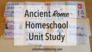 Ancient Rome Homeschool Unit Study