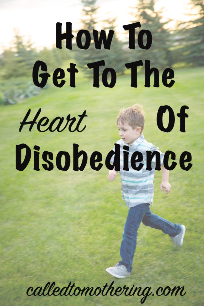 How To Get To The Heart Of Disobedience