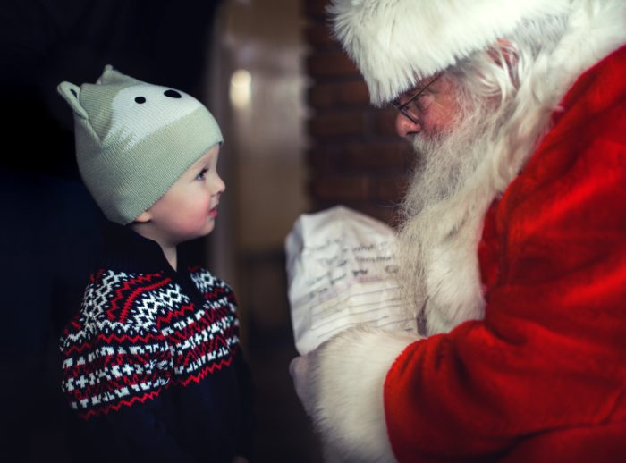 what to tell kids about Santa