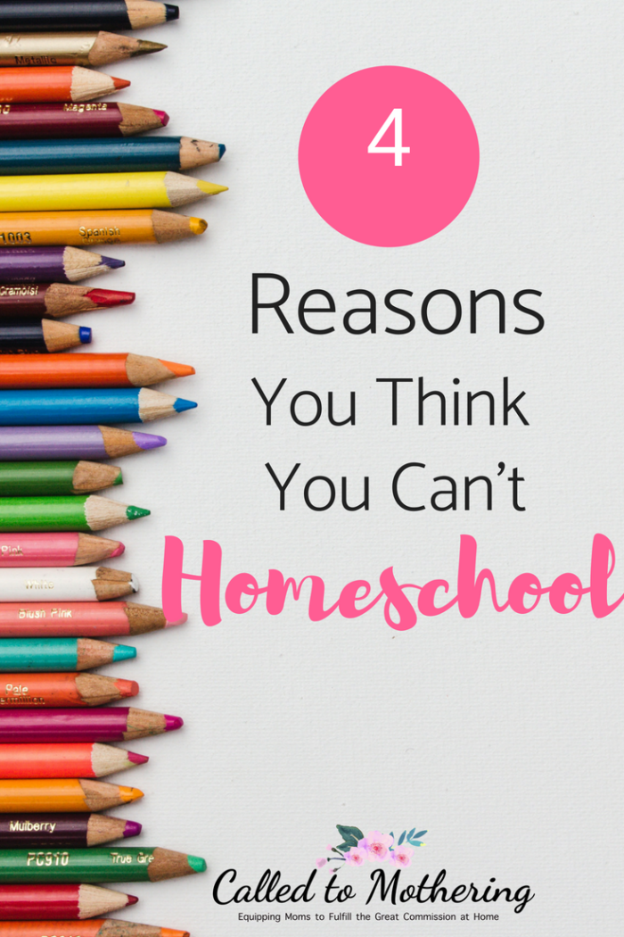 4 common excuses for not homeschooling, and why you are actually more qualified than you think to educate your own children. #homeschooling #homeeducation #learningathome