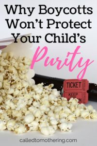 Why Boycotts Won't Protect Your Child's Purity