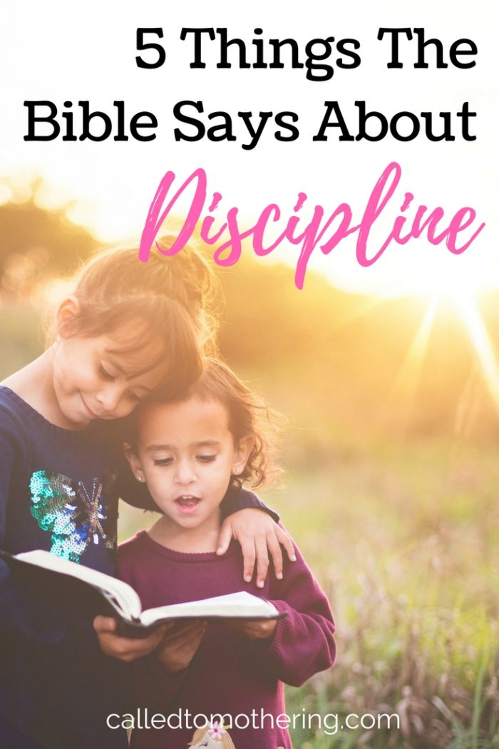 When it comes to disciplining our children, do we listen more to the world's opinions or God's Word? Here are 5 important things the Bible says about the purposes of discipline.
