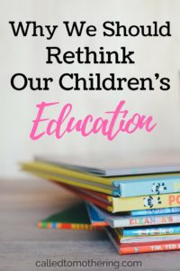 Why We Should Rethink Our Children's Education