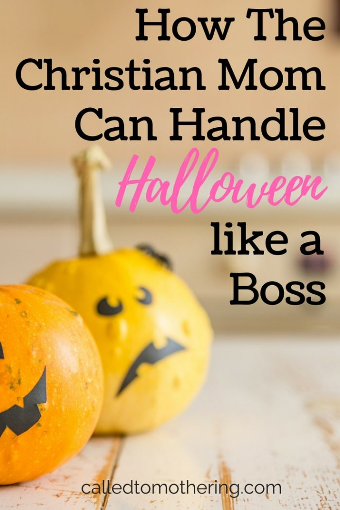 Should Christian moms let their kids participate in Halloween activities? Here are several smart ways to handle this tricky holiday, and teach your children biblical truths too!