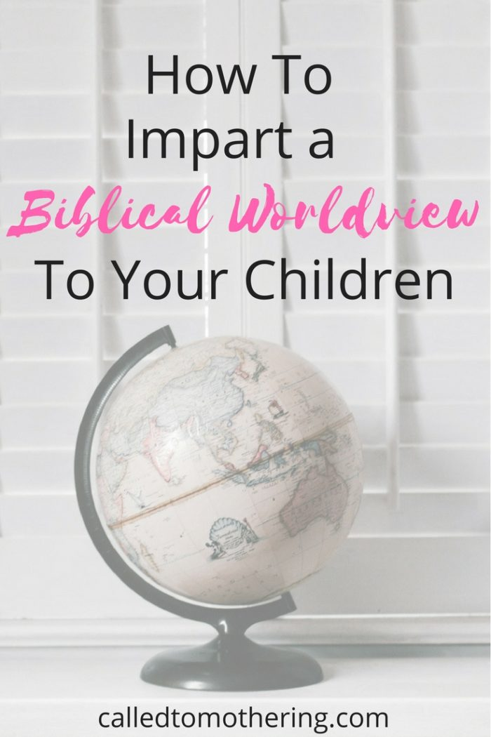 Teaching our children a biblical worldview is a large part of cultivating the soil of their hearts and the environment of our home. This article gives you practical ways to intentionally equip your kids with the solid foundation of a Christian worldview!
