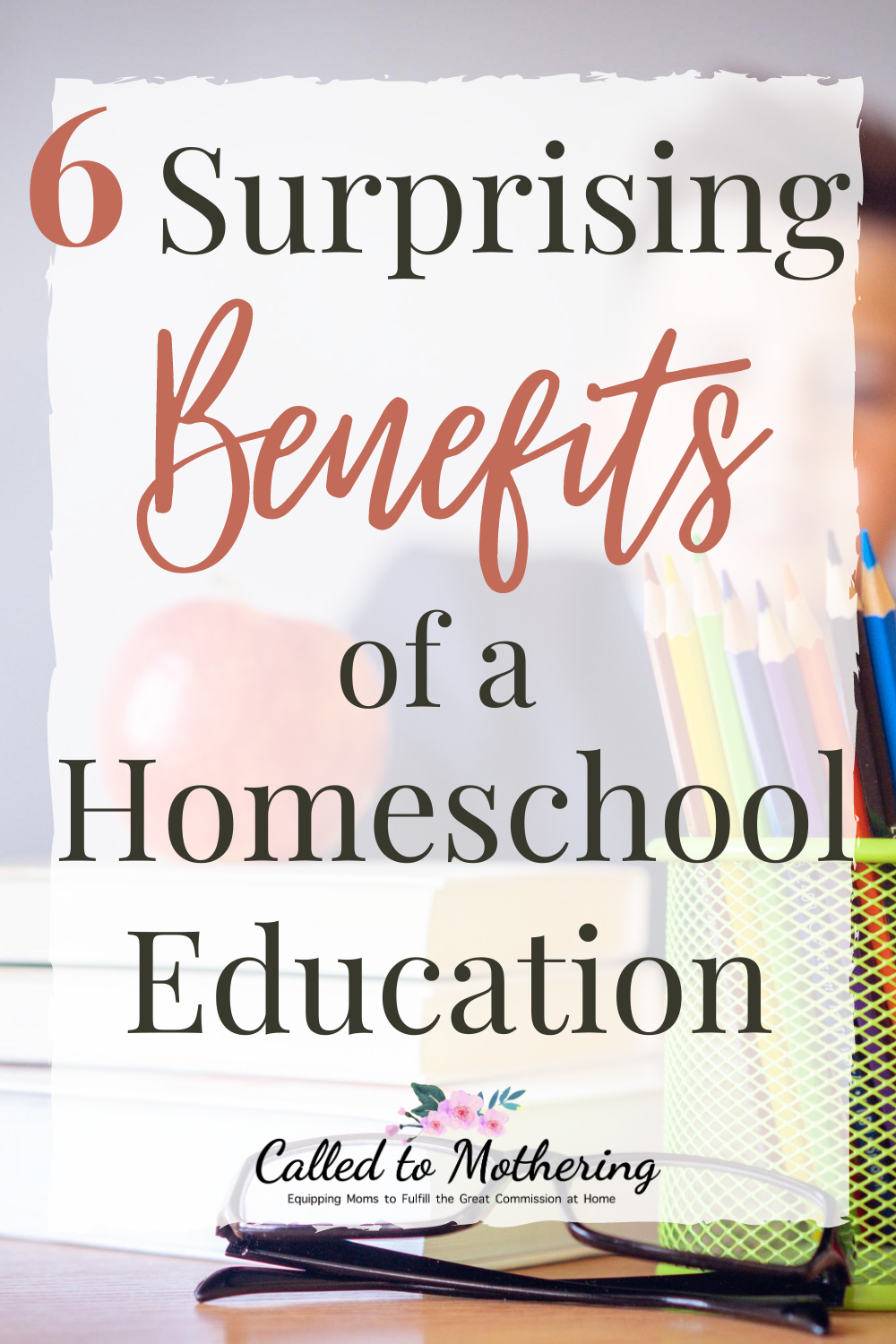 Here are several benefits to teaching your children at home that will pleasantly surprise you! #homeschooltips #homeschoolencouragement