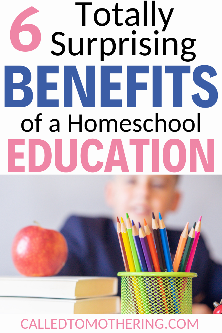 Our family has enjoyed many advantages of homeschooling during the past several years. Besides obvious ones like an unhurried learning pace and a customized education, there have also been numerous benefits which have come as a total surprise. #homeschooltips #homeschoolencouragement #christianparenting