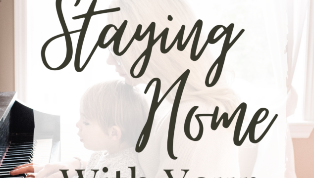 Are you struggling with being a stay-at-home mom? Here are three ways you can not only survive, but enjoy staying home with your kids! #momhacks #stayathomemom #stayinghomewithkids #enjoymotherhood