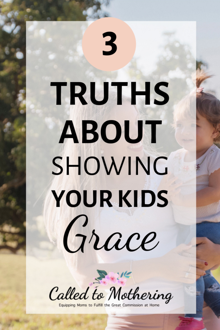 Three reasons to show your kids grace when they continually disobey. #christianparenting #raisinggodlykids #childdiscipline #behavior #obedience