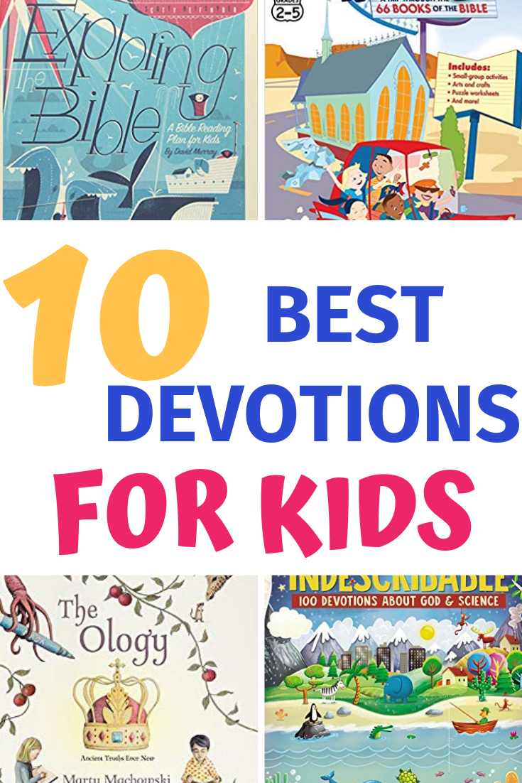 10 of the best gospel-centered children's devotions and Bible studies. #childrensdevotion #kidsbiblestudy #christianchildrensbooks #familydiscipleship #christianparenting #charactertraining