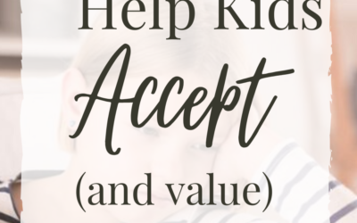 5 Ways To Help Kids Accept and Value Correction