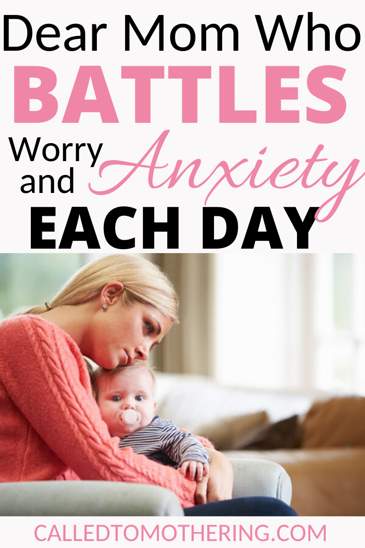How to overcome anxious thoughts as a mom and enjoy motherhood. #anxiety #mentalhealth #selfcare #momencouragement