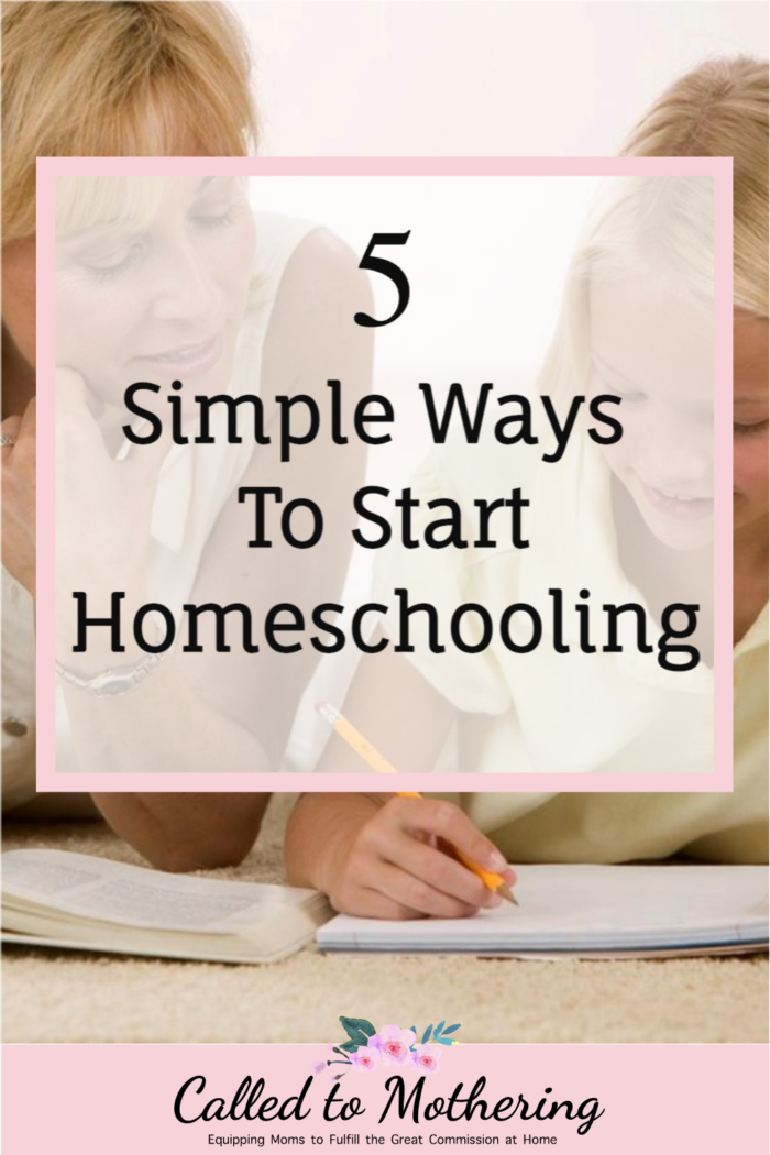 5 helpful tips for getting started on your homeschool journey, including education requirements and how to choose curriculum. #homeschooling #homeschooltips
