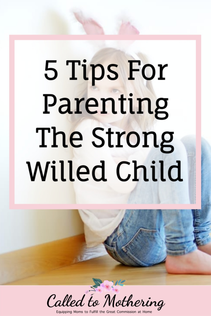 Frustrated with your strong-willed child? Here are 5 helpful tips for effectively parenting a kid with an iron will. #strongwilledchild #difficultchild #parentingtips