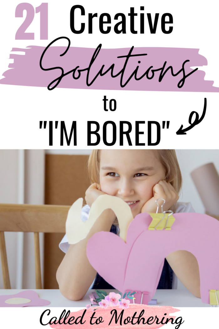These fun, easy and creative kids' activities are the perfect boredom busters for rainy days or when you just can't leave home!
