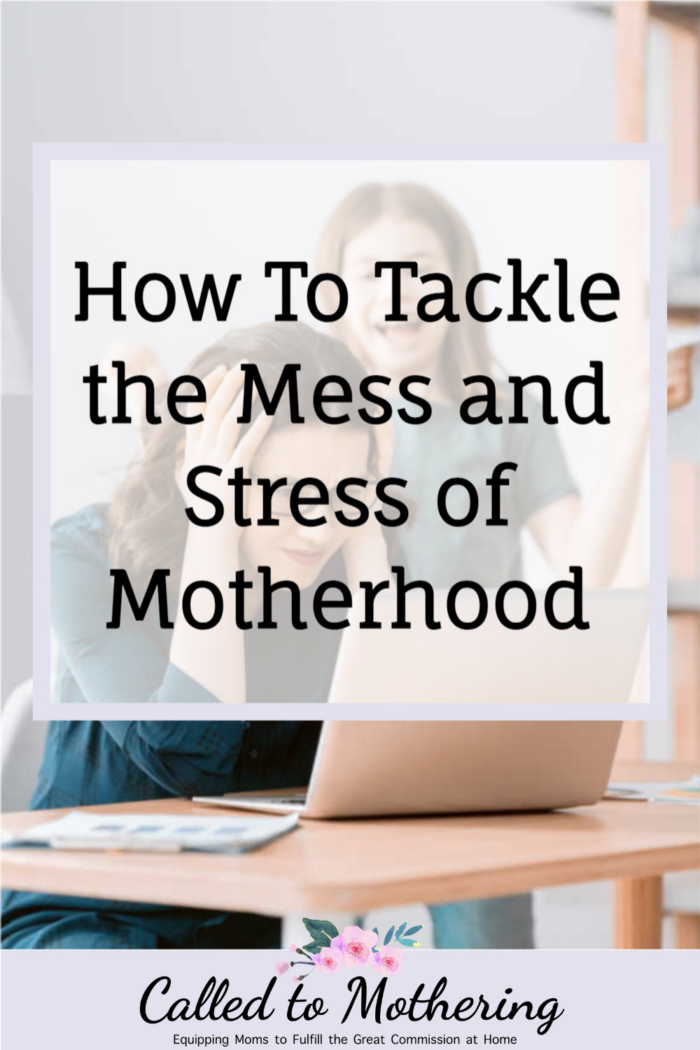 Feeling consumed by the mess and stress of motherhood? Read this for the best advice on how to tackle it, and stop being overwhelmed!